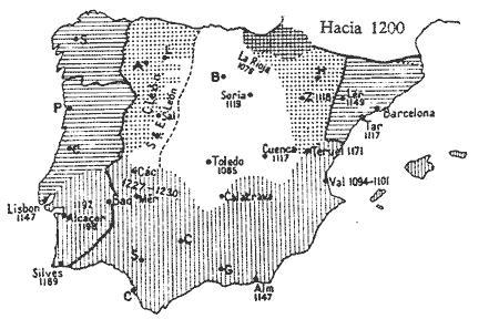 EXPANSION DE LA LENGUA ARAGONESA EN EL AÑO 1200