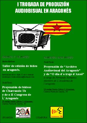 I TROBADA DE PRODUZION AUDIOBISUAL EN ARAGONES