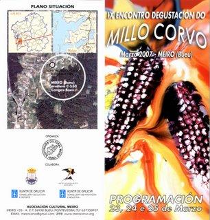 IX ENCONTRO DEGUSTACION DO MILLO CORVO