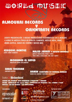ORIENTARTE RECORDS Y ALMOUKRI RECORDS PRESENTARON SU MUSICA