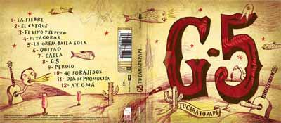 CONCIERTO DEL G-5 -GRUPO FANTASMA- EN BARCELONA