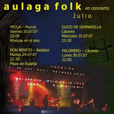 AULAGA FOLK Y SUS NUEVOS TEMAS MUSICALES
