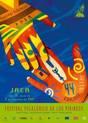 CLAUSURA DEL FESTIVAL FOLKLORICO DE LOS PIRINEOS - JACA -