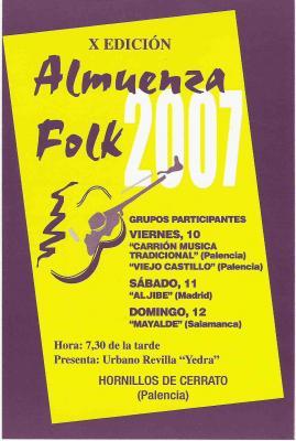 X  EDICIÓN ALMUENZA FOLK 2007