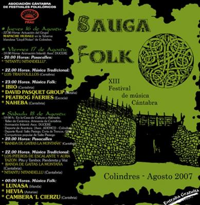 SAUGA FOLK 2007 -COLINDRES- CANTABRIA