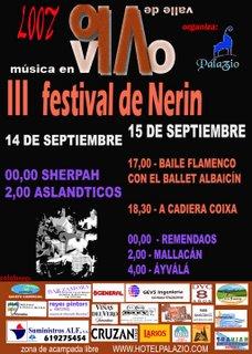 III FESTIVAL DE NERIN - HUESCA -