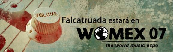 LA DISCOGRAFICA INDEPENDIENTE FALCATRUADA EN EL WOMEX DE SEVILLA