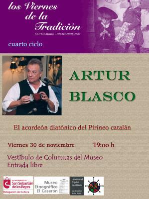ARTUR BLASCO EN SAN SEBASTIAN DE LOS REYES, MADRID