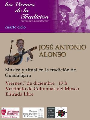 JOSE ANTONIO ALONSO EN SAN SEBASTIAN DE LOS REYES