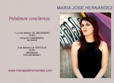 MARIA JOSE HERNANDEZ EN GRANADA