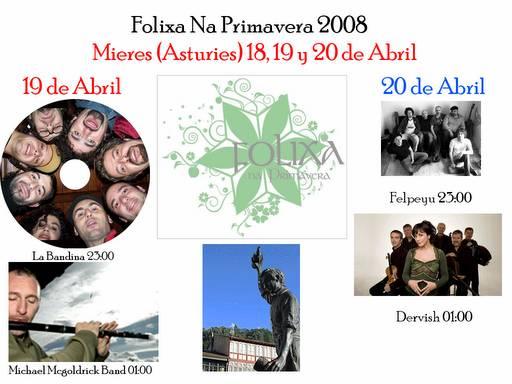 FOLIXA NA PRIMAVERA 2008