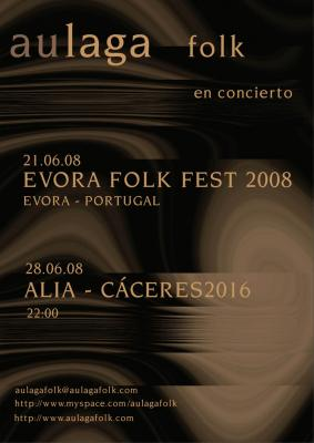 AULAGA FOLK EN CONCIERTO - CACERES -