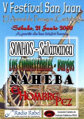 V FESTIVAL SAN JUAN EL ARENAL DE PENAGOS