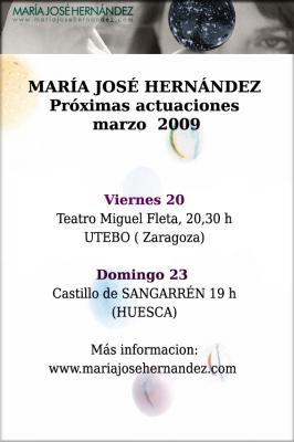 MARIA JOSE HERNANDEZ EN UTEBO