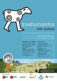 TRASHUMANTES FOLK FESTIVAL 2009