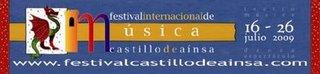 """FESTIVAL INTERNACIONAL DE MUSICA """"CASTILLO DE AINSA"""""""