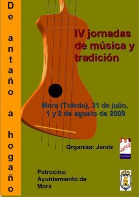 "IV JORNADAS DE MÚSICA Y TRADICIÓN ""DE ANTAÑO A HOGAÑO"""